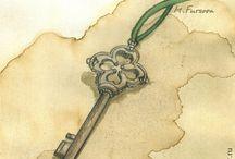 Артбукмания - ключи и двери