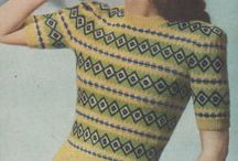 vintage knitting patterns
