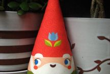 Gnomes and woodland creatures