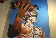 Mexican Paintings Original Works