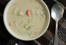 Recipes - Soups and Starters / A variety of soups and starters