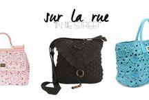 Crochet handbags 1