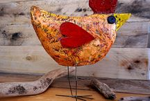 Paper and Paper Mache Art