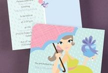 Etiquette for Invitations and Announcements / Read all about the suggested etiquette guidelines for baby showers stationery and baby shower invitations to ensure your baby invitation cards are right on.