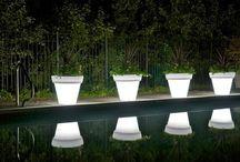 garden light pots