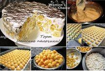 кулинария тортики