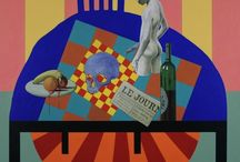 Still life painting / Still life paintings realistic, figurative and almost abstract