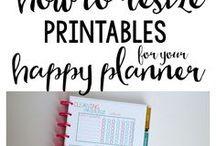 Journaling ~ Happy Planner