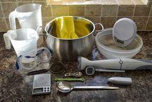 A szappankészítés eszközei