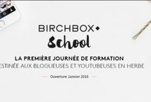 Challenge Birchbox School /  Pour être ready to learn (rock) à la Birchbox school!