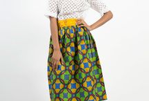 Ife's Closet / Our styles - classic silhouettes in wondrous prints