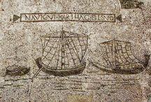 Navigare necesse est, vivere non est necesse... / Ancient ships, harbours, trades...