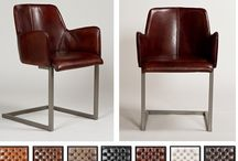 Vintage Lederen stoelen uitgevoerd in prachtig leder. / Op zoek naar een comfortabele Lederen Vintage stoel, kom dan eens een kijkje nemen bij Chairs@Home