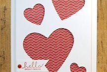 Valentine Cards / by Carol Michelsen
