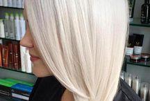 PLATINUM BLOND HAIR