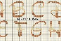 borduur letters