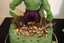 Hulk cakes