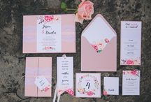 Inspired Weddings Invitations / Invitations we have created to inspire you.