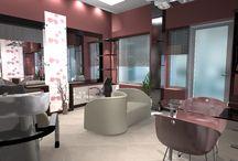 Interior design salon