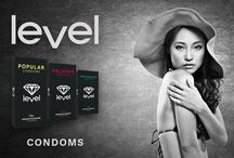 Level Condoms / Best quality condoms In the assortment of DokterLifestyle.com you can also find various kinds of Level Condoms. These condoms by the Dutch brand Level all carry the CE0120 mark, which means that they meet all strict rules and regulations in Europe.