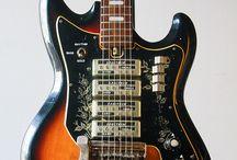 vintage weird guitars