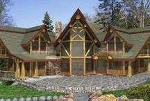 Floor Plans & Designs (Artisan) / Floor plans and designs of Artisan's Full Scribe log homes, Timber Frame and Post & Beam.