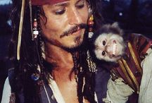 Johnny Depp Pirates des Caraïbes