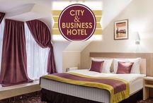 """City & Business Hotel / ДОБРО ПОЖАЛОВАТЬ В  «CITY & BUSINESS  HOTEL»  МЫ ПРЕДЛАГАЕМ:           1.   Комфортабельное размещение – номерной   фонд  гостиницы  включает  34  номера различных категорий.                К Вашим услугам: бесплатный доступ в интернет Wi-Fi, охраняемая парковка, трансфер, экскурсионное обслуживание, доставка цветов, авиа и жд билетов, аренда автомобиля, оформление визы для иностранных Гостей, регистрация иностранцев, также проведение фотосессий в интерьерах комплекса!           2.  Услуги ресторана-                 Питание гостей проходит в кафе «PIZZA LAND» отеля - это уютное кафе , выполненное в стиле «прованс» для проведения  корпоративных мероприятий  с оригинальным  меню и музыкальным сопровождением. В меню кафе –  блюда Европейской и Итальянской кухни.  3. Конференц – услуги -  зал для деловых встреч и переговоров – конференц-зал отеля, оснащенный      дополнительным оборудованием, удобной  мебелью, необходимой офисной   техникой, а также возможностью организовать кофе-брейки в нашем отеле.  4. АПАРТАМЕНТЫ ‼️ Отдельный дом со всем необходимым для прекрасного отдыха! Просторные большие и светлые комнаты! Одна очень большая двуспальная кровать и 2 диван-кровать. Кухня, Спутниковое телевидение, кондиционер, стиральная машина. На втором этаже бильярд, настольный теннис!Есть парковка!(находится в 15 минутах езды от отеля, трансфер входит в стоимость номера)   4.   РУССКАЯ БАНЯ!! Предлагаем Вашему вниманию новую услугу """"Русская Баня""""которая находится в 15 минутах езды от отеля( трансфер входит в стоимость услуги)   5.  КОННЫЙ ПРОКАТ- Конноспортивный клуб находится в 20 минутах езды от отеля( трансфер входит в стоимость услуги)  6. ОТДЫХ НА ОЗЕРАХ - Если Вы устали от городской суеты-это место как раз для Вас!! Комплекс находится вдали от города! К Вашим услугам - • Беседки с Мангалом(вместительность до 15 чел), • Баня на дровах •Рыбалка   По всем вопросам обращайтесь по телефонам в г. Минеральные Воды: e-mail: сity-hotel@mail.ru тел/факс: +7 """