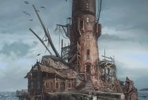 Steampunk architecture