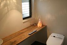 住宅トイレ洗面所