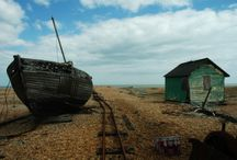 On Location - Dungeness, Kent / The beautiful setting of our High Winter shoot