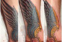 Hermes Wings Tattoo