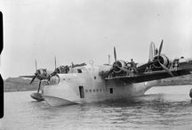 Sunderland - flying boat / Such an amazing and gorgeous design and engineering
