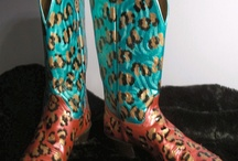 Handpainted cowboys boots for Janessa