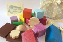 Oggetti in legno / Costruzioni in #legno, #lego, #puzzle, #memory
