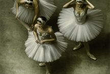 B a l l e t / humans dancing like the swan.