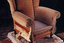 Upholster and slipcover / by Debbie Wallace