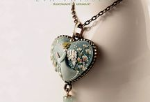 Polymer Clay necklases