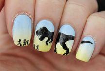 jurassic nails