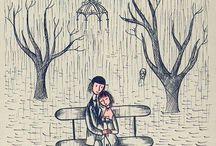 Saint  Valentin / L'Amour en couple ou l'Amour  Bienveillance en général