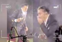 Alejandro Fernández se humilla al vomitar en show; luego explica qué pasó