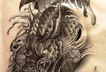 Japán tattoo / tattoo