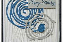 Card Making: Swirls