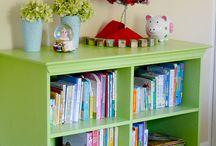Kitchen Bookshelf