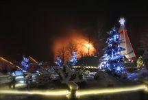 Wioska Świętego Mikołaja / Wioska Świętego Mikołaja, Kraina Królowej Śniegu, Bajkowy Park Rozrywki - Bałtów