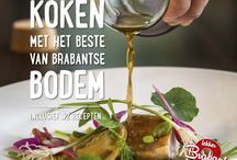 Kookboek Lekker Brabant / 'Koken met het beste van Brabantse bodem' is misschien wel het lekkerste kookboek van Brabant en bevat meer dan alleen recepten. Ilse Reeuwijk en fotograaf Jeroen van Eijndhoven keken rond op boerderijen en struinden door weilanden en stallen. Brabantse boeren zorgden voor de mooiste producten, topkoks gingen ermee aan de slag. Dat leverde het eerste Lekker Brabant kookboek op; vol recepten, foto's, columns en verhalen.