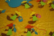 Kindergarten Spring crafts