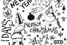 Kerst Bullet Journal