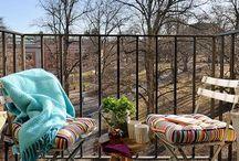 Balcones y Terrazas / Ideas para decorar balcones y terrazas. Fotos de balcones y terrazas.