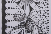 zentangle carré